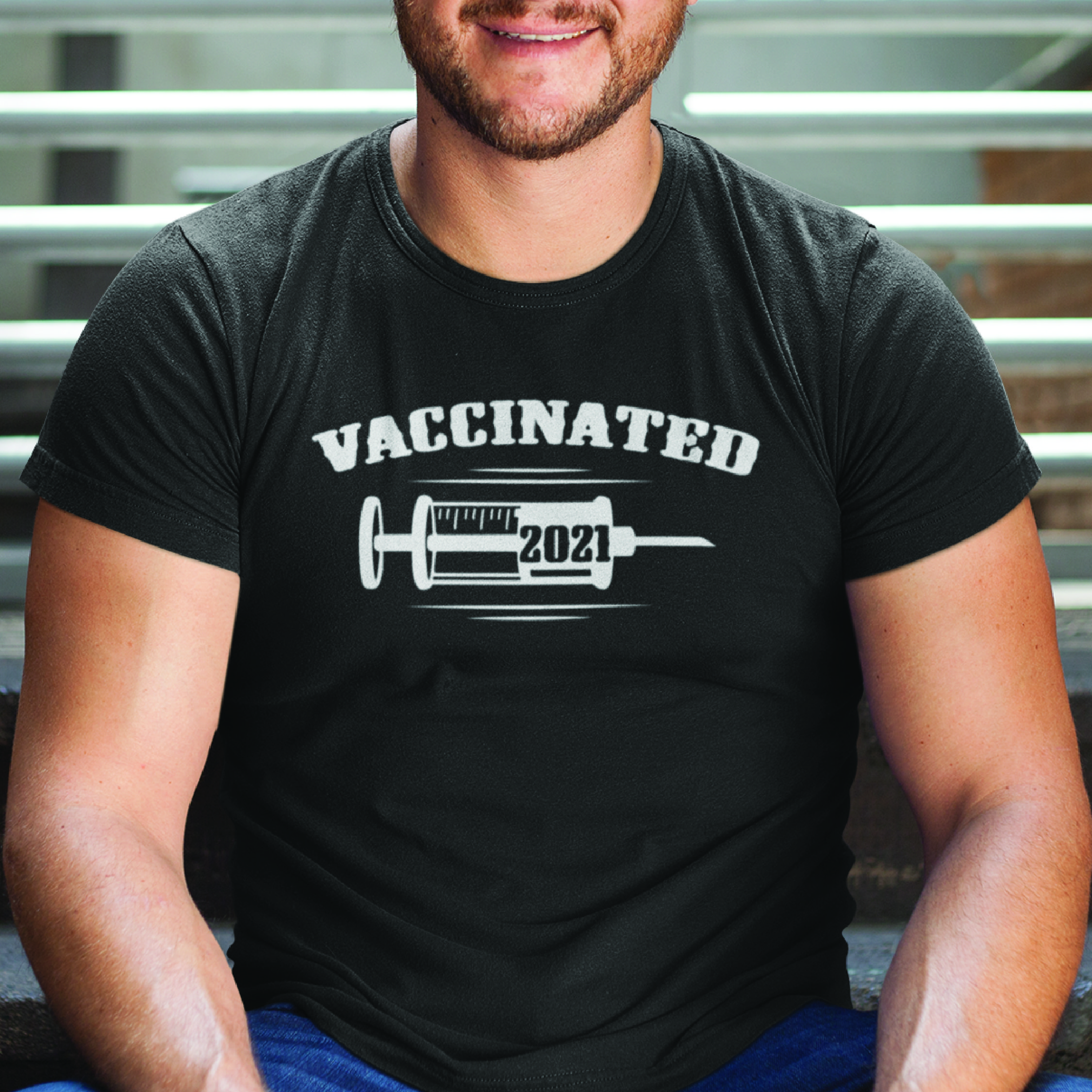 Vaccinated T Shirt Vaccination Day 2021